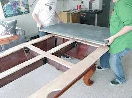 Pool table moves in Mooresville North Carolina