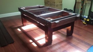 Correctly performing pool table installations, Mooresville North Carolina